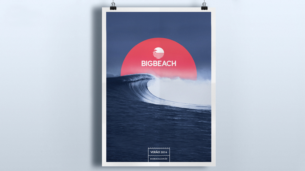 Marca e Identidade Visual - Big Beach